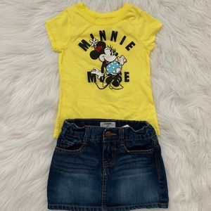 Minnie clothes set